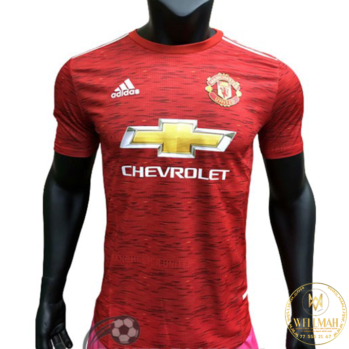 Maillot Manchester United Domicile – 2020-2021 – Rouge